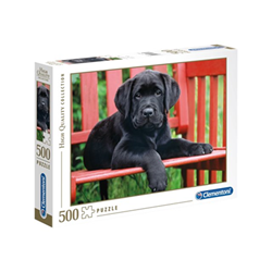 Puzzle Clementoni - High quality collection - the black dog 30346