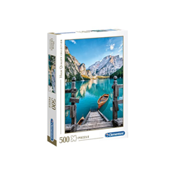 Puzzle Clementoni - High quality collection - lago di braies 35039