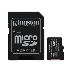 Micro SD Kingston - Canvas select plus - scheda di memoria flash - 512 gb sdcs2/512gb