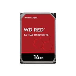 SSD Western Digital - Wd red plus nas hard drive - hdd - 14 tb - sata 6gb/s wd140effx
