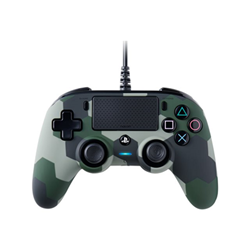 Controller BigBen Interactive - Nacon compact - game pad - cablato ps4ofcpadcamgreen