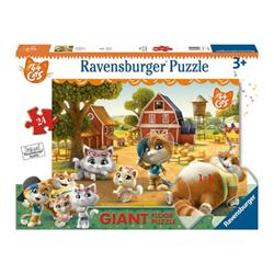 Puzzle Ravensburger - 44 gatti 3015c