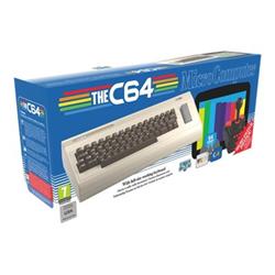 Distruggi documenti Koch Media - Thec64 - game console - marrone, tan 1035243
