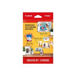 Carta fotografica Canon - Kit - carta fotografica - 60 fogli - 100 x 150 mm 3634c003