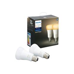 Lampadina LED Philips - Hue White Ambiance, 2 Lampadine LED Smart con  Bluetooth, E27