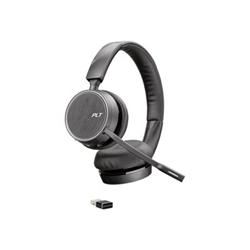 Cuffie con microfono Plantronics - Poly voyager 4220 usb-a - cuffie con microfono 211996-101