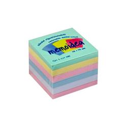 Post it Iternet - Memoidea - block notes - 76 x 76 mm - 600 fogli (6 x 100) 3269