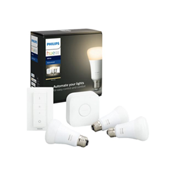 Lampadina LED Philips - Hue white starter kit - set per illuminazione wireless 929001821604