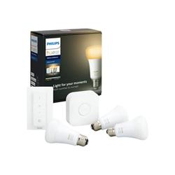 Lampadina LED Philips - Hue white ambiance starter kit - set per illuminazione wireless 929002216903