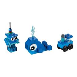 Classic 11006 mattoncini blu creativi set costruzioni 11006a