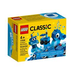 CLASSIC Mattoncini blu creativi 11006A
