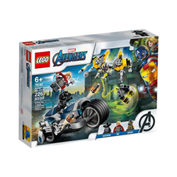 Avengers avengers speeder bike attack set costruzioni 76142