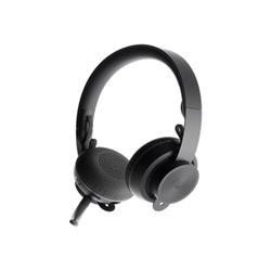 Cuffie con microfono Logitech - Zone wireless plus - cuffie con microfono 981-000806