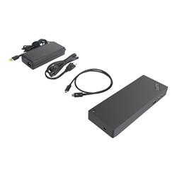 Docking station Lenovo - Thinkpad thunderbolt 3 workstation dock gen 2 - duplicatore di porte 40any230eu