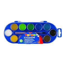 Acquerelli Primo - Pittura - acquerello - colori assortiti (pacchetto di 12) 112a12sg