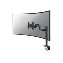 Newstar - Fpma-d960plus - montaggio a scrivania (full-motion) fpma-d960blackplus