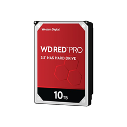 Hard disk interno Western Digital - Wd red pro nas hard drive - hdd - 10 tb - sata 6gb/s wd102kfbx