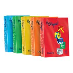 Carta Cartotecnica Favini - Favini le cirque forti - carta colorata - 250 fogli - a4 - 160 g/m² a74c304