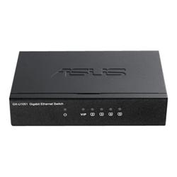 Switch Asus - Gx-u1051 - switch - 5 porte - unmanaged 90ig0680-bo3r00