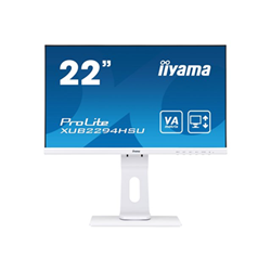 "Monitor LED IIYAMA - Prolite - monitor a led - full hd (1080p) - 22"" xub2294hsu-w1"