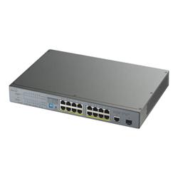 Switch Zyxel - Gs1300-18hp - switch - 18 porte gs1300-18hp-eu0101f