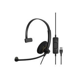 Image of Cuffie con microfono EPOS IMPACT SC 30 USB ML con microfono Nero