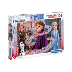 Puzzle Supercolor disney frozen 2 20162