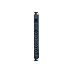 APC - Easy basic rack pdu - unità distribuzione alimentazione - 3680 va epdu1016b
