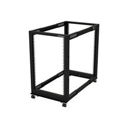 Startech - Startech.com armadio server rack con 4 staffe a telaio aperto 18u con profondit