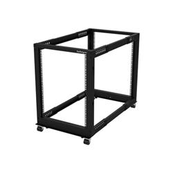 Startech - Startech.com armadio server rack con 4 staffe a telaio aperto 15u con profondit