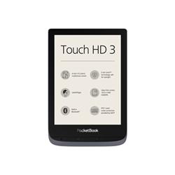 eBook reader PocketBook - Touch HD 6'' 16GB Grigio Metal