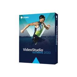 Software Corel - Videostudio ultimate 2020 - box pack - 1 utente vs2020umlmbeu