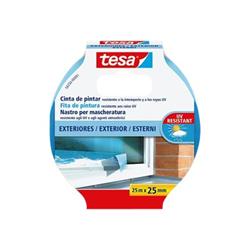 Tesa - 56250 precision nastro di precisione - 25 mm x 25 m - blu 56250-00001-01