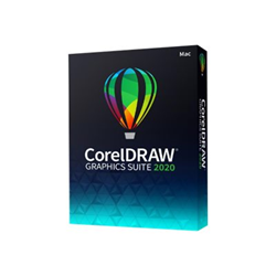 Software Corel - Coreldraw graphics suite 2020 for mac - box pack - 1 utente cdgs2020mmldpeu