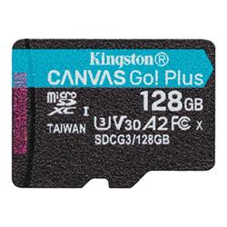 Micro SD Kingston - Canvas go! plus - scheda di memoria flash - 128 gb sdcg3/128gbsp