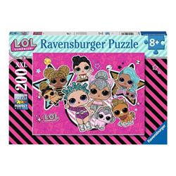 Puzzle Ravensburger - 200xxl - girl power lol surprise 12884