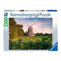 Puzzle Ravensburger - Classic - mulini a vento sul mar baltico 16223a