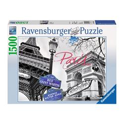 Puzzle Ravensburger - Paris, my love 16296a