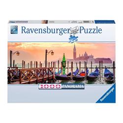 Puzzle Ravensburger - Panorama - Gondole a Venezia