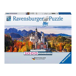 Image of Puzzle Ravensburger's puzzle germany collection - school neuschwastein 15161