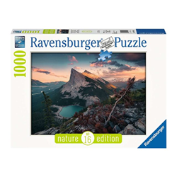 Puzzle Ravensburger - Nature Edition - Tramonto in Montagna 15011
