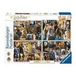 Image of Puzzle Ravensburger's puzzle 4x100 bumper pack - harry potter 06832