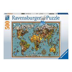 Puzzle Ravensburger - Special collections classic - il mondo delle farfalle 15043