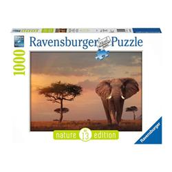 Image of Puzzle Ravensburger's puzzle nature edition - elefante masai mara 15159a