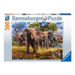 Puzzle Ravensburger - Elefanti 15040