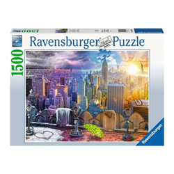 Puzzle Ravensburger - New york summer and winter 16008a