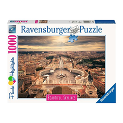 Puzzle Ravensburger - Puzzle Highlights - Roma 14082