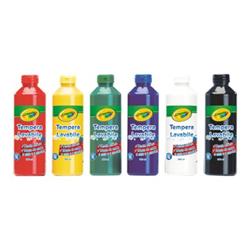 Tempera Crayola - Pittura - tempera - colori assortiti - 250 ml (pacchetto di 6) 3926