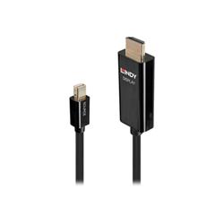 Cavo HDMI Lindy - Cavo audio / video - 1 m 40911