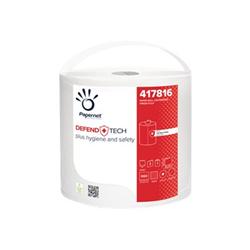 Papernet - Defend tech - salviettine per pulizia - pura cellulosa - 660 fogli 417816